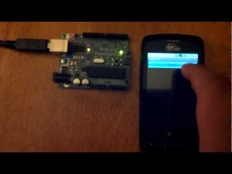 Control Anything With Your Android Phone and Arduino From The Internet. No Ethernet Shield Required.