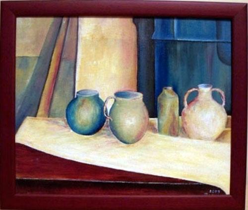 10 x 12 Original Acrylic Still Life Painting