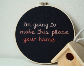 Embroidery hoop wedding gifts – Etsy