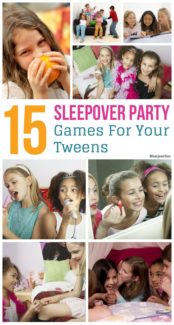 So your tween is hosting her first sleepover. You have already sent the invites and are expecting a bunch of guests to arrive.
