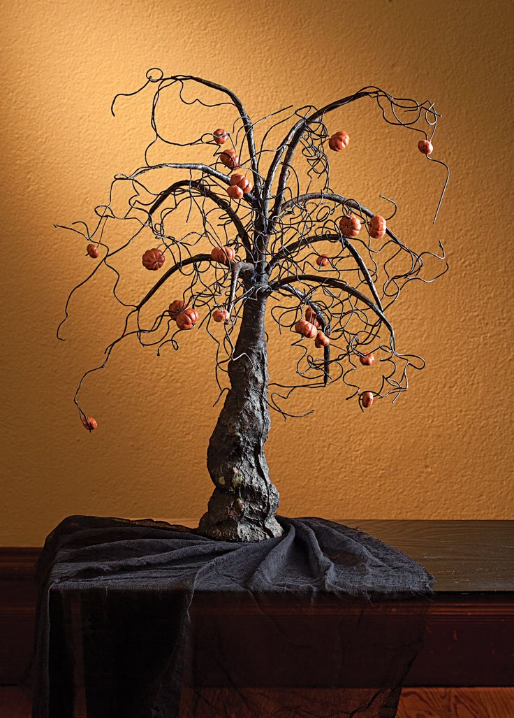 1000 images about halloween trees on pinterest for Creepy trees for halloween