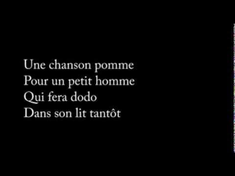 Gilles Vigneault - Une chanson pomme