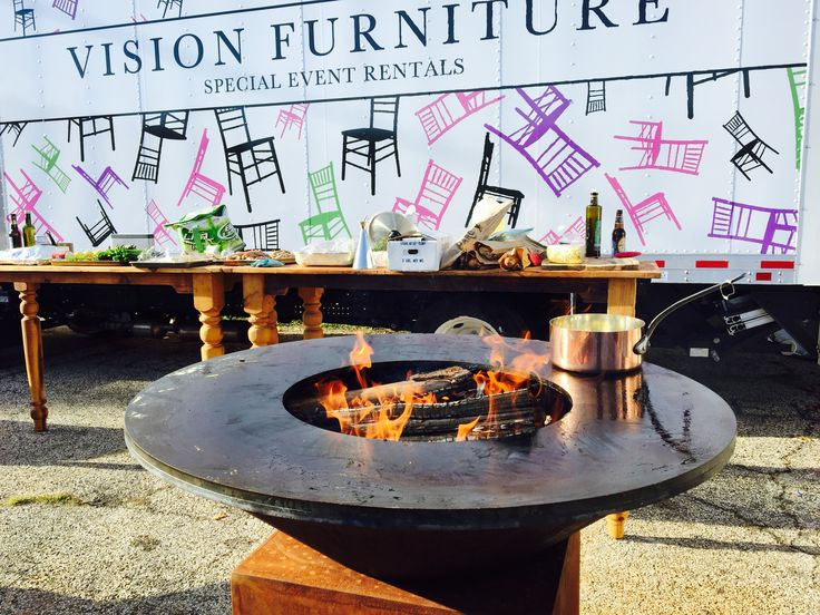 Find This Pin And More On OFYR Wood Fired Grill   Vision Furniture.