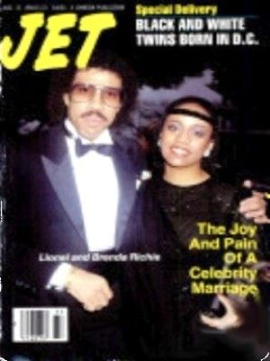 JET Magazine August 15, 1988 Lionel and Brenda Richie Vol. 74, No. 20 by BusyQueen