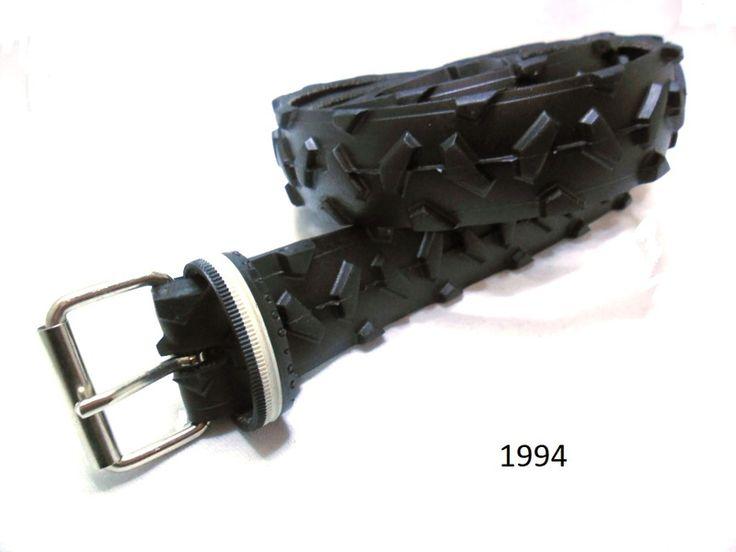 Gürtel - Damen-Herrengürtel aus recyceltem Fahrradreifen. - ein Designerstück von re-belt bei DaWanda