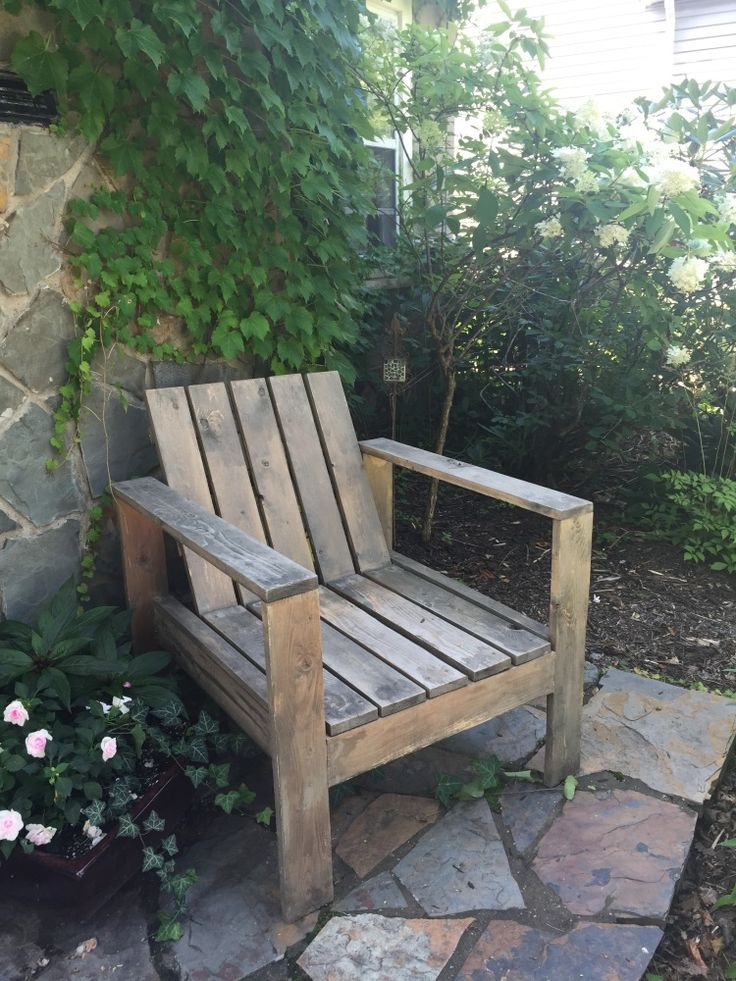 DIY Patio Chair, Plans By Ana White