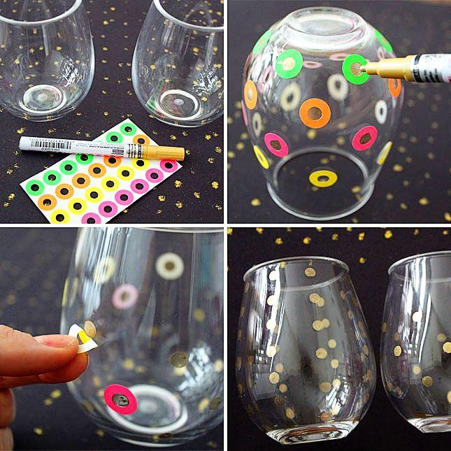 3 Easy Ways to Make Pretty Polka Dot Decor | Brit + Co.