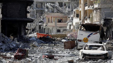"""Russia says ISIS controls less than 5% of Syria as rights groups raise alarm over Raqqa  https://tmbw.news/russia-says-isis-controls-less-than-5-of-syria-as-rights-groups-raise-alarm-over-raqqa  The area controlled by Islamic State in Syria has been reduced to less than 5 percent, the Russian Defense Ministry said, but human rights groups remain concerned about the """"dire humanitarian situation"""" in Raqqa, captured from jihadists by US-backed militias.Read more""""Islamic State [IS, formerly…"""