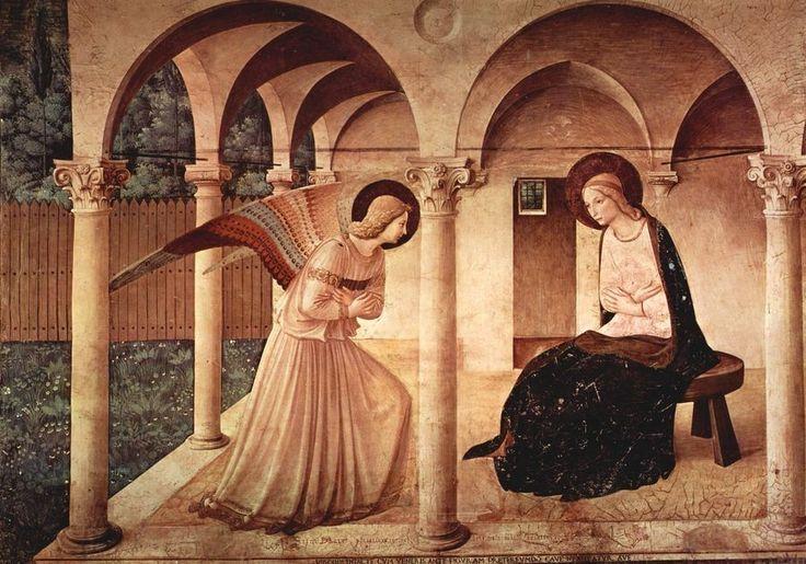 Obraz VSO 1010 Fra Angelico - Zvěstování