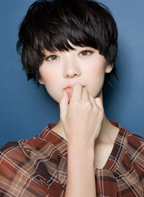 Modern Version of the Bowl Cut - Cute Short Asian Hairstyles