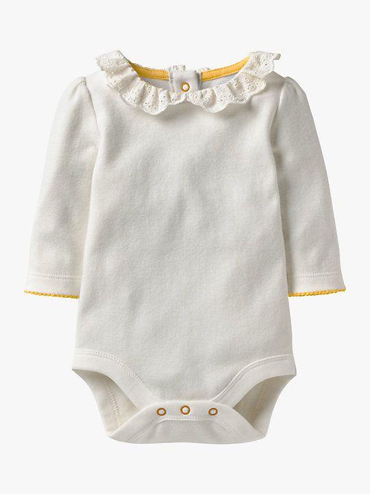 b50332b8cee Mini Boden Baby Pretty Collar Bodysuit