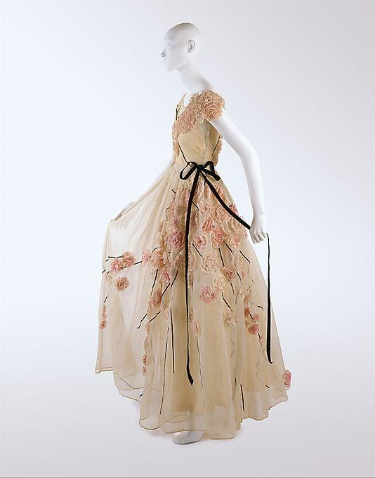 Dress, House of Lanvin, 1937