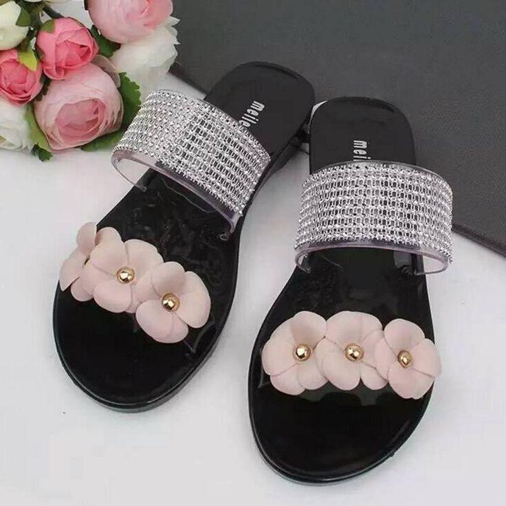 $7.28 (Buy here: https://alitems.com/g/1e8d114494ebda23ff8b16525dc3e8/?i=5&ulp=https%3A%2F%2Fwww.aliexpress.com%2Fitem%2FSplendid-2015-summer-lady-s-Bowtie-flower-flat-sandals-sexy-casual-fashion-female-beach-flip-flops%2F32706939561.html ) Splendid 2015 summer lady's Bowtie flower flat sandals sexy casual fashion female beach flip flops women mesh black shoes home for just $7.28