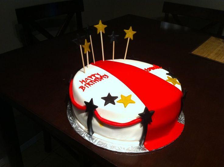 red carpet cake album birthday cakes