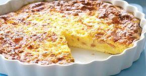 Quiche lorraine sans pâte Weight Watchers, quiche lorraine avec du jambon plutôt que des lardons, facile et simple à réaliser.