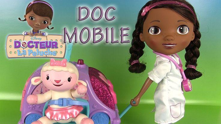 Docteur la peluche Doc McStuffins Doc Mobile Jouets Poupon avec clinique...