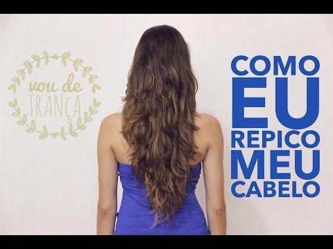 TRUQUE GENIAL PARA CORTAR O CABELO REPICADO SOZINHA! - Receitas e Dicas Rápidas