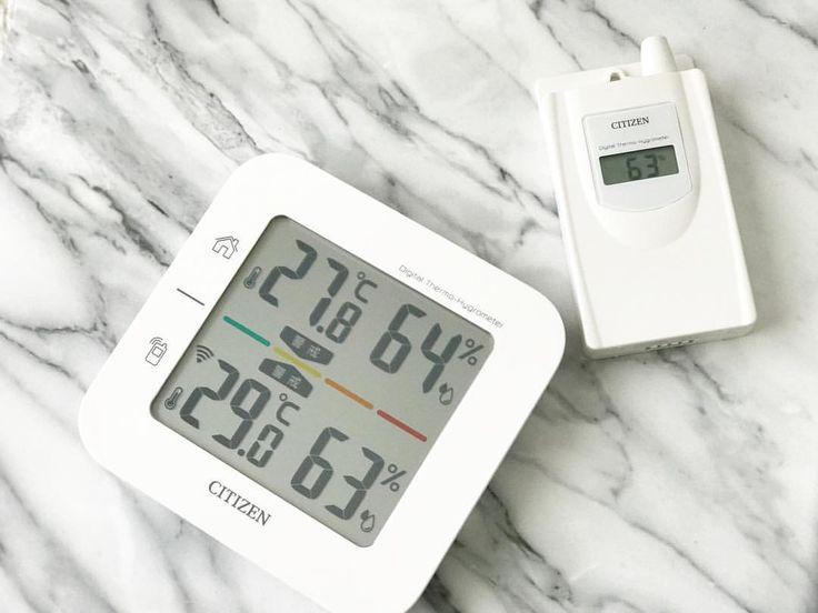 ついに買いました‼️ . . 一条ハウスの必須アイテムと言っても過言ではないコードレス温湿度計‼️ . . 子機を外に置いて、外の気温を確認して外に出るのが冬の一条ハウスの過ごし方らしい😂 . . そうしないと、家の中が暖かいからめっちゃ薄着で出てしまうらしいです🤣 . . それをずーーーーっとAmazonのカート🛒に入れていて、値引きのタイミングを見計らってました😂 . . ずーーーーっと4400円くらいだったのに、4200円代になって、しかも今なら5%offクーポンがあって、もっと安く買えました😍 . . わーい🙌✨ . . 同じ物が安く買えると嬉しい😆❤️ . . 関西10年目だなと実感します😂笑 . . これから活躍してもらわなければ😝 . . #一条工務店#amazon#シチズン#citizen#コードレス温室度計#必須アイテム#子機を置く場所が問題#お宅訪問させてもらったお家は#ポストの中に入れていて#外気温が40℃😂#置く場所が重要