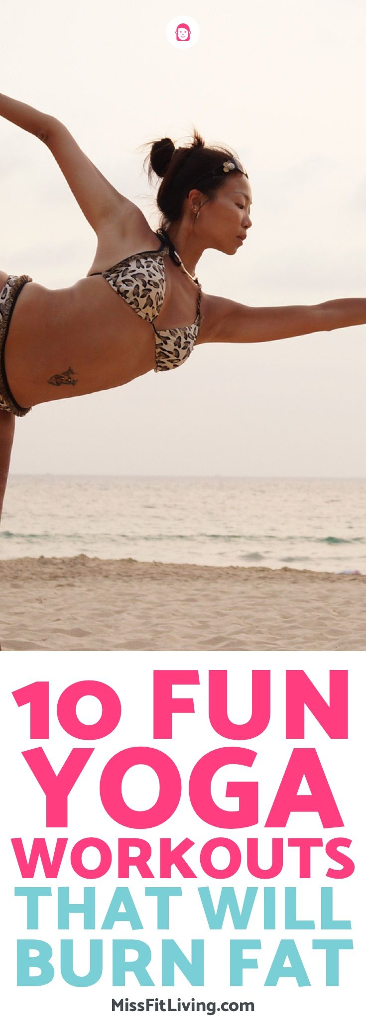 Losing weight with yoga can be fun. Here are 10 yoga workouts that will help you...