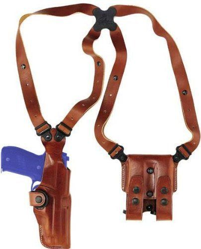 Galco Vertical Shoulder Holster System for Glock 19, 23, 32 (Tan, Ambi) by Galco. $159.96. Galco combined features from our Miami Classic with a traditional vertical shoulder holster to create a system that's perfect for the 21st century's first responders and military personnel.     Combat-proven in Iraq and Afghanistan, the VHS has been field tested over military uniforms and general hunting clothing with great success, and thousands are currently in use by American a...