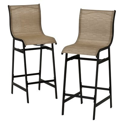 Target Home Dumont 2 Piece Sling Patio Bar Chair Tan