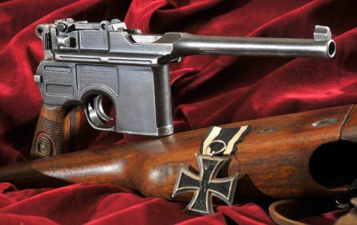 Пистолет Маузер К96 (Mauser C96). История создания и галерея фото