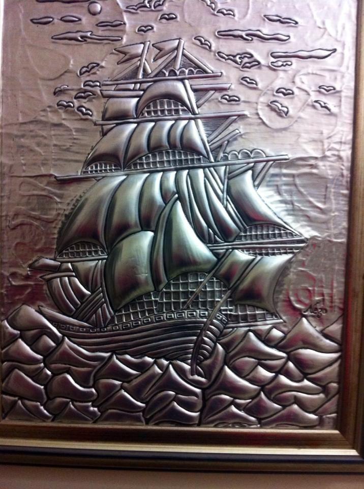 Repujado * bateau*