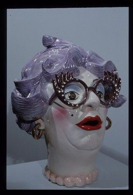 Love this teapot in the image of Australian icon, Dame Edna Everage