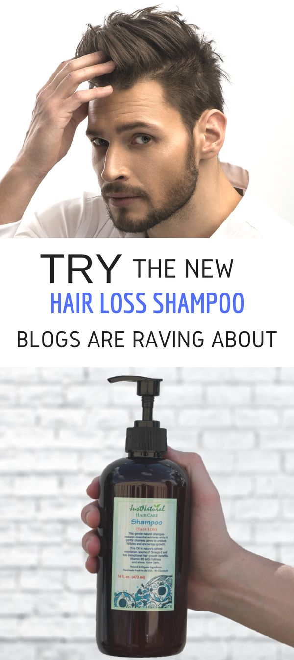 This shampoo for hair loss is boosted by more  than 20 of nature's most potent ingredients that  revitalize your scalp and hair follicles..