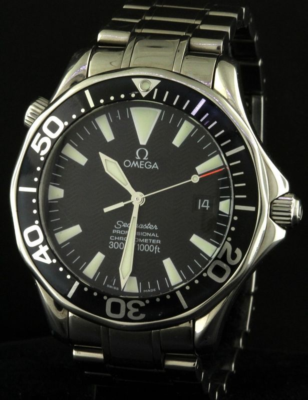 Omega Seamaster Professional Chronometer SS automatic men's watch