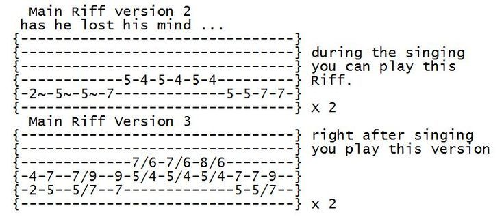 how to write a metal song on guitar