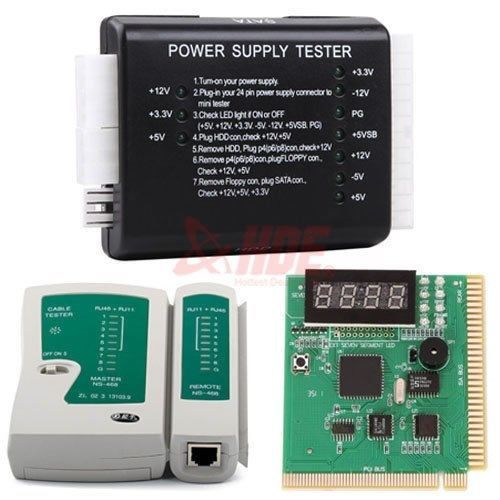 PC-Network-Test-Kit-Motherboard-POST-Analyzer-Cable-Computer-Power-Supply-Tester