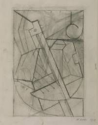 Naum Gabo 'Sketch for Relief Construction', 1917 The Work of Naum Gabo © Nina & Graham Williams/Tate, London 2014