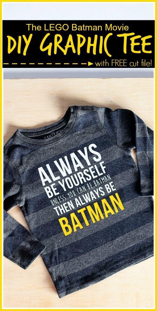 Always Be Batman - FREE cut file!   #LEGOBatmanMovie - - Sugar Bee Crafts