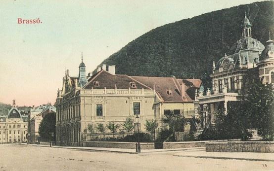 Brasovul -  Vila - Schuller - 1912: Postcards, România Pitorească, Town, 1912