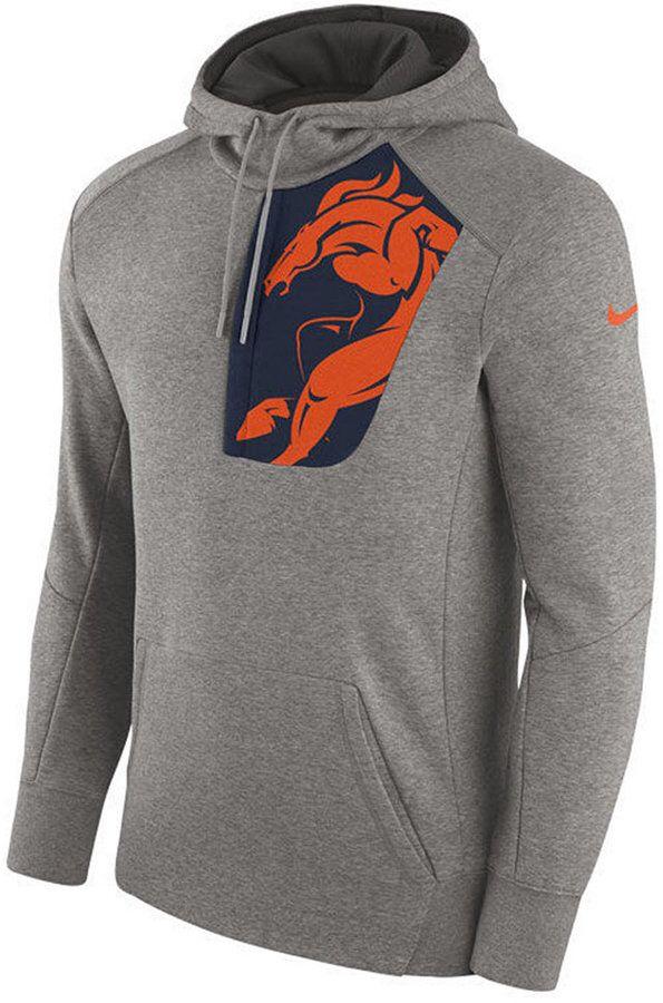 new concept c1f07 5dc14 Nike Men's Denver Broncos Fly Fleece Hoodie | Denver BRONCOS ...