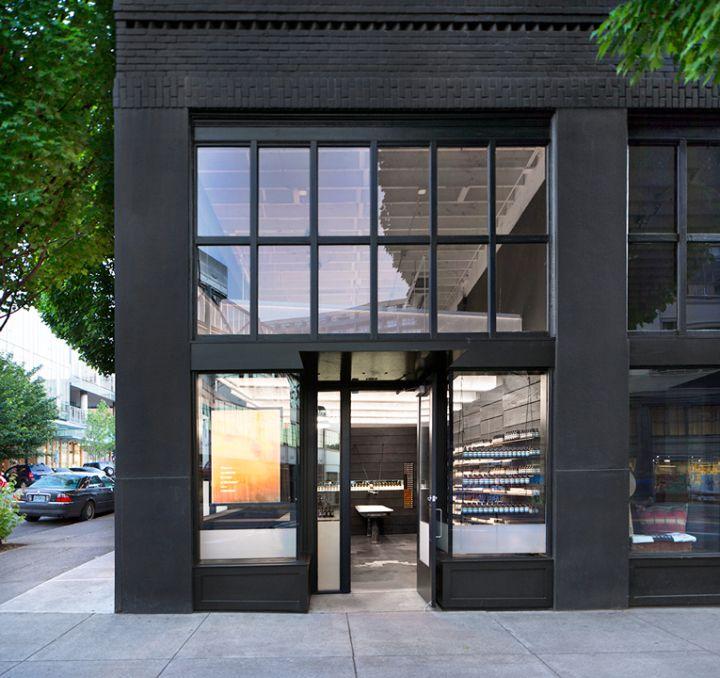 Front Elevation Antiques : Best aesop images on pinterest store design
