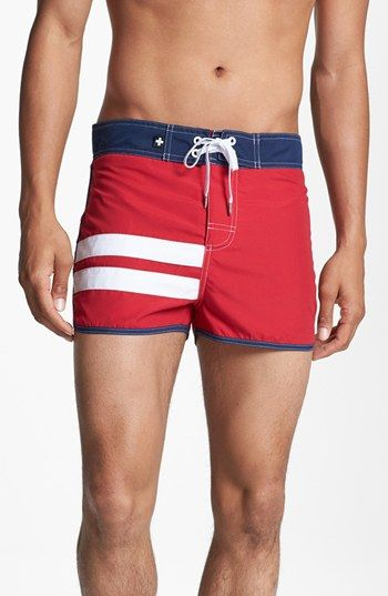 Andrew Christian 'Harbor' Swim Shorts | Nordstrom