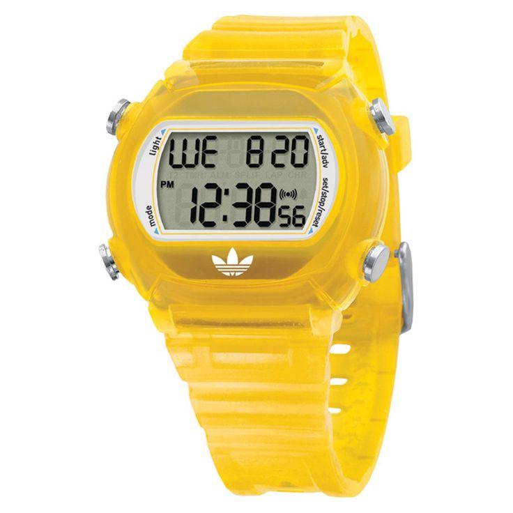 Relógio Digital Adidas Candy Amarelo | Netshoes