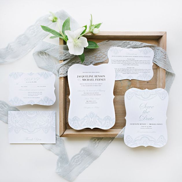 Do you know how to properly address an invitation? Check out the details on BridentityCrisis.com! // Image via Wedding Paper Divas