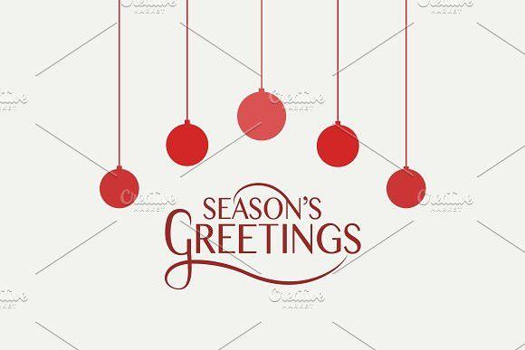 Season S Greetings Card Template Seasons Greetings Card Greeting Card Template Card Template