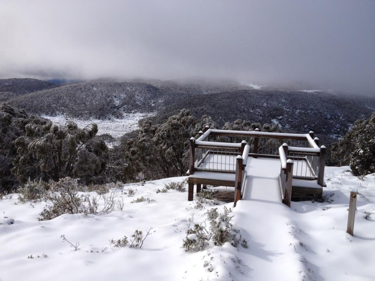 Snow Australia - Mt Baw Baw in Victoria #snowaus