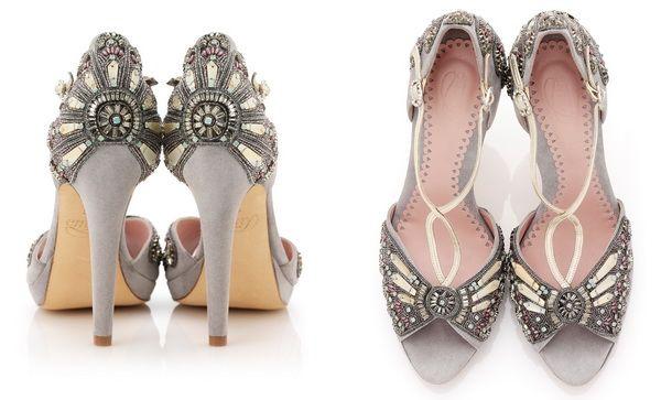 серые туфли на свадьбу #wedding #shoes