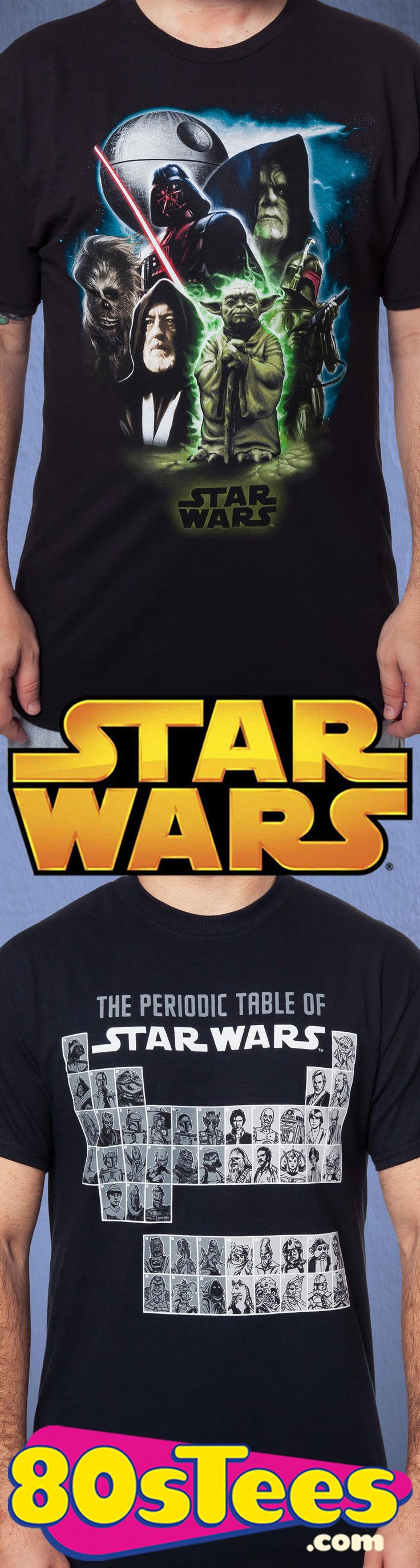 80sTees.com is the best place to go for Star Wars t-shirts!  We have the best designs, the most sizes, and great prices!