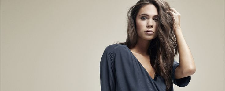 Lovely wrap around dress. Black Swan Fashion
