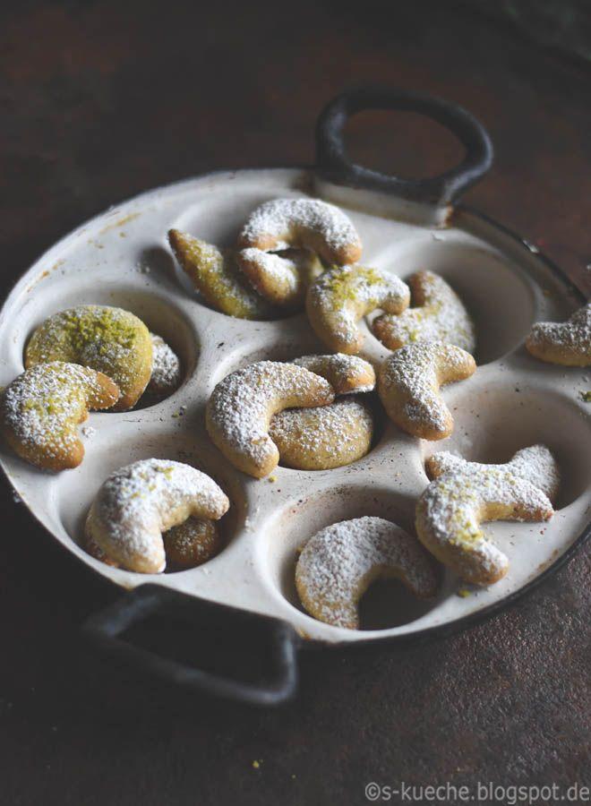 S-Küche: Vanillekipferl mit Pistazien oder Haselnüssen - Vanille-Gewinnspiel