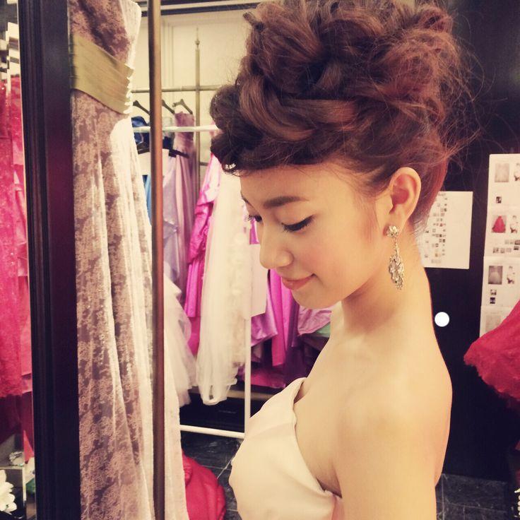 color dressスタイル