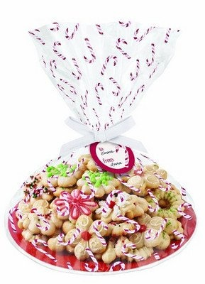 Christmas Cookie Plate Kit Candy Canes
