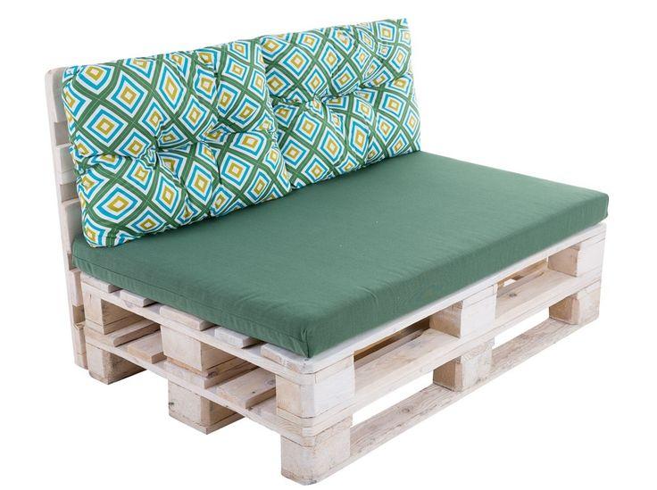 Sada vankúšov na sofa z paliet Megara L056-02PB PATIO
