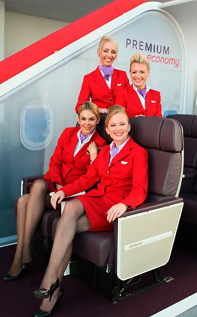 Virgin Atlantic Airways Flight Attendants ~ Cabin Crew Photos